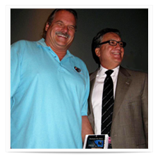 Dave Valaika receives Platinum Pro 5000 Award